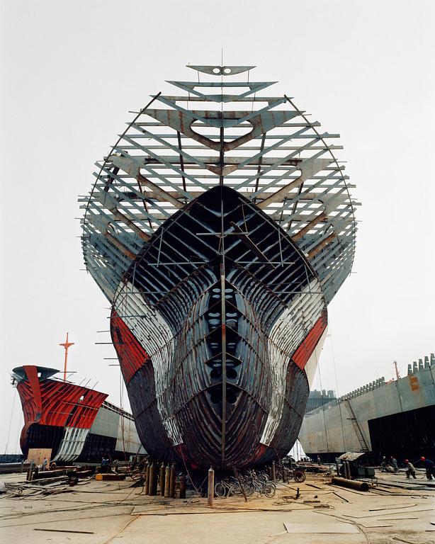 Shipyard #11, Qili Port, Zhejiang Province, 2005
