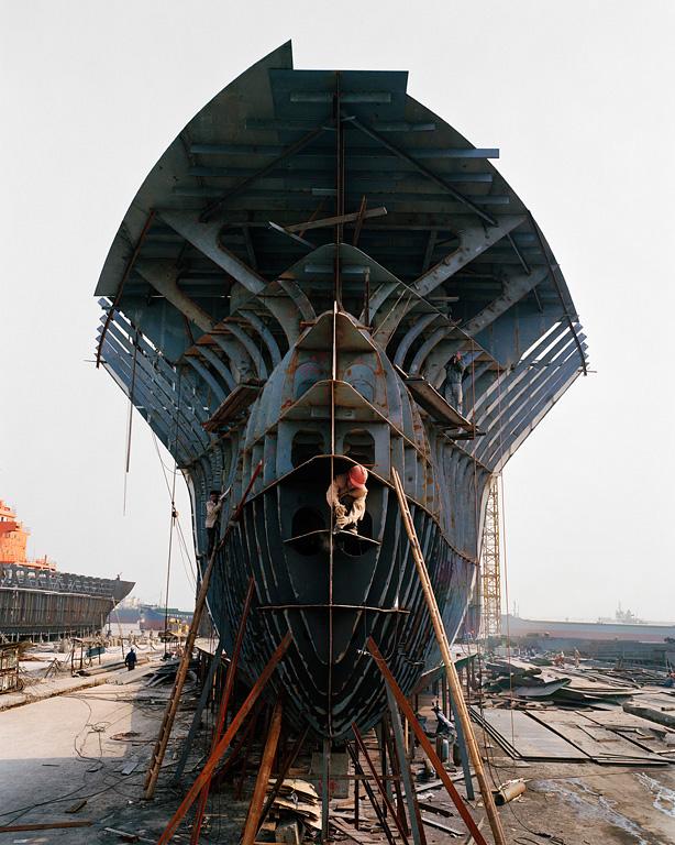 Shipyard #12, Qili Port, Zhejiang Province, 2005
