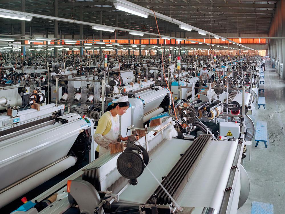 Manufacturing #7, Textile Mill, Xiaoxing, Zhejiang Province, 2004