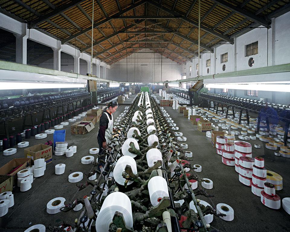 Manufacturing #8, Textile Mill, Xiaoxing, Zhejiang, 2004