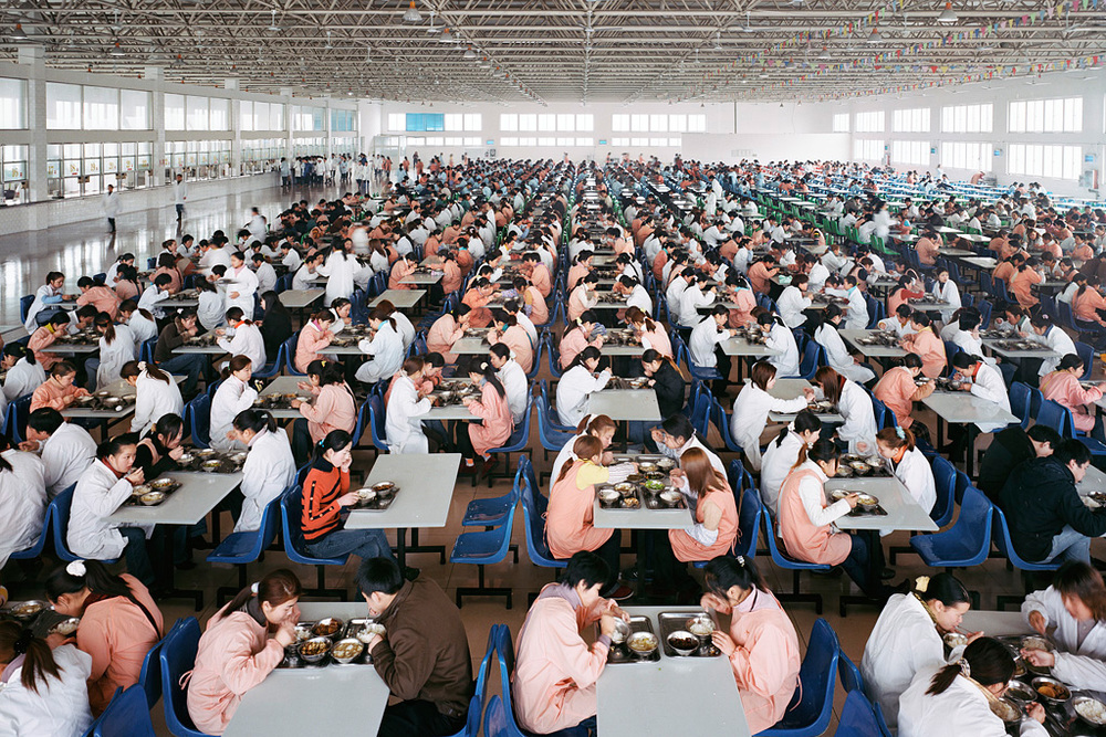 Manufacturing #11, Youngor Textiles, Ningbo, Zhejiang Province, 2005