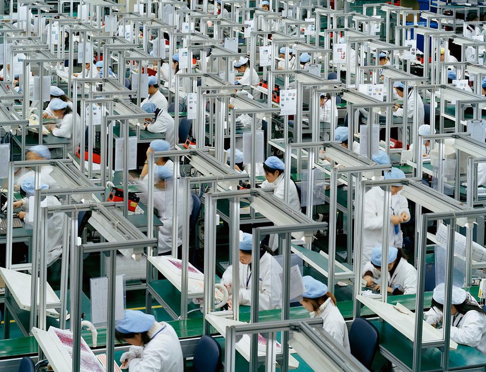 Manufacturing #16, Bird Mobile, Ningbo, Zhejiang Province, 2005