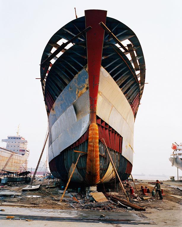 Shipyard #13, Qili Port, Zhejiang Province, 2005