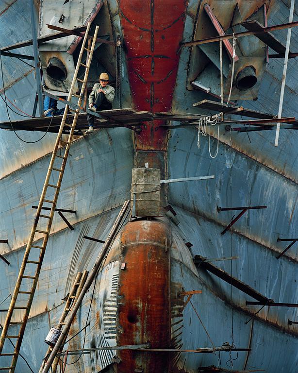 Shipyard #16, Qili Port, Zhejiang Province, 2005