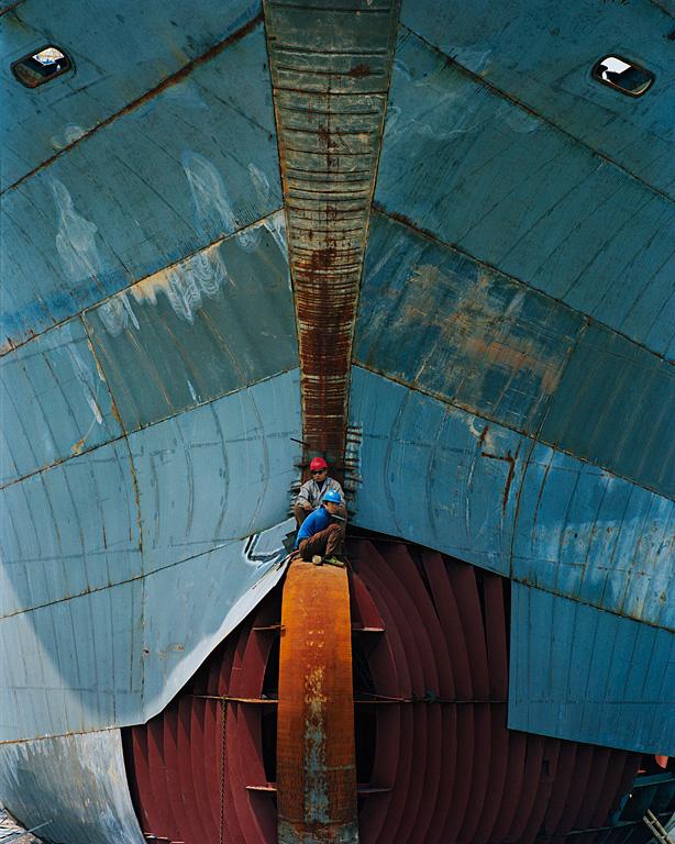 Shipyard #17, Qili Port, Zhejiang Province, 2005