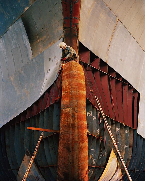 Shipyard #18, Qili Port, Zhejiang Province, 2005