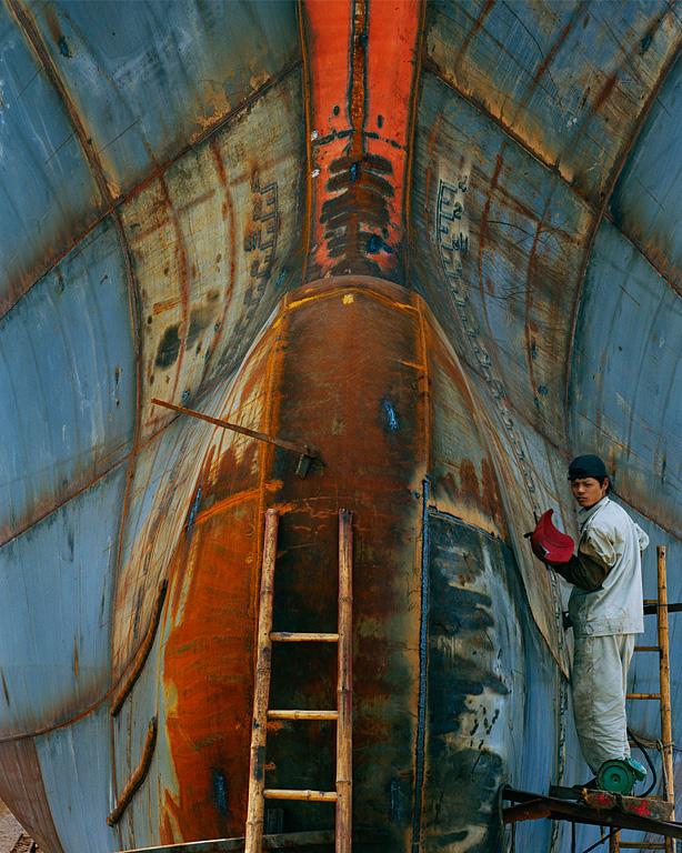 Shipyard #19, Qili Port, Zhejiang Province, 2005