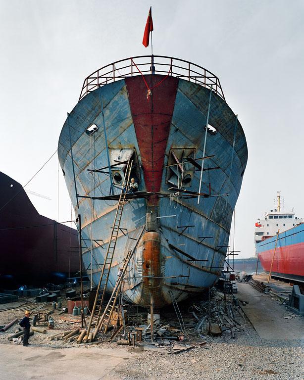Shipyard #20, Qili Port, Zhejiang Province, 2005