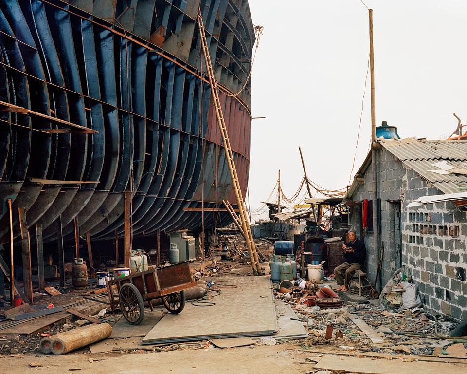 Shipyard #21, Qili Port, Zhejiang Province, 2005