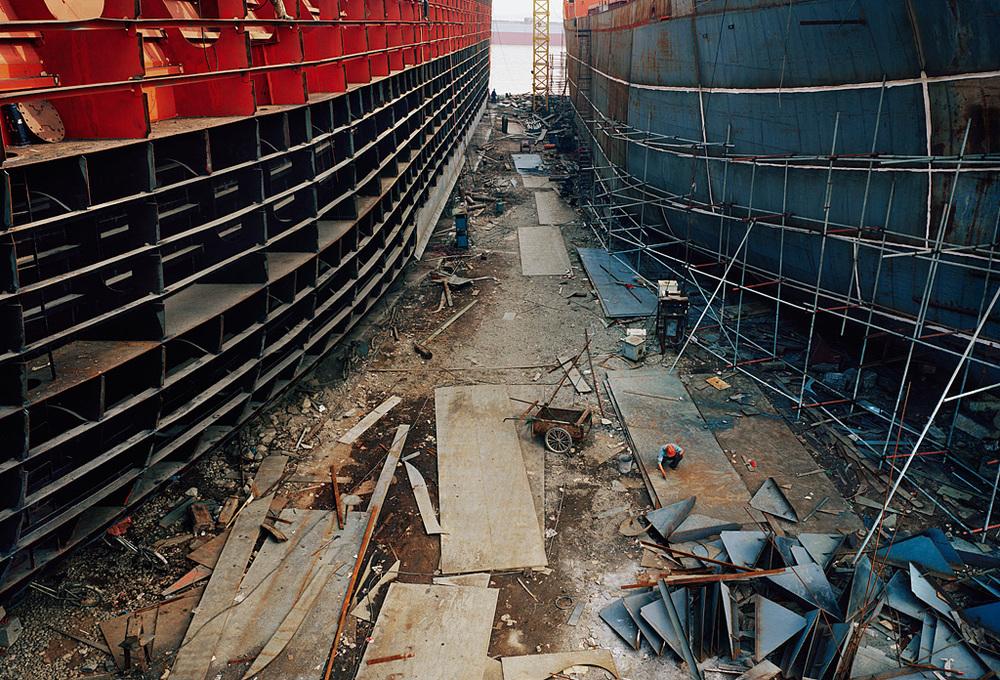 Shipyard #9, Qili Port, Zhejiang Province, 2005