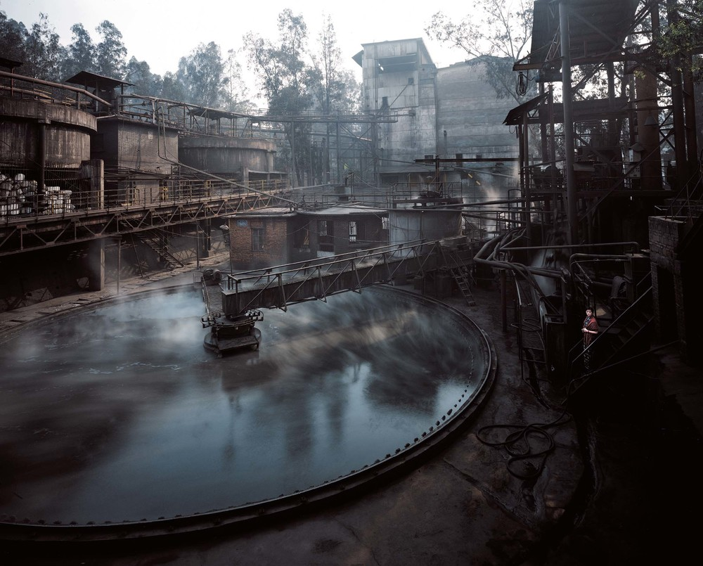 Mine Pool, 2003-2006, C-print, variable sizes