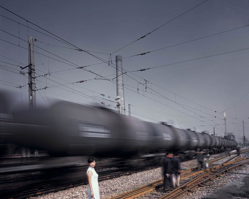 Train, 2003-2006, C-print, variable sizes