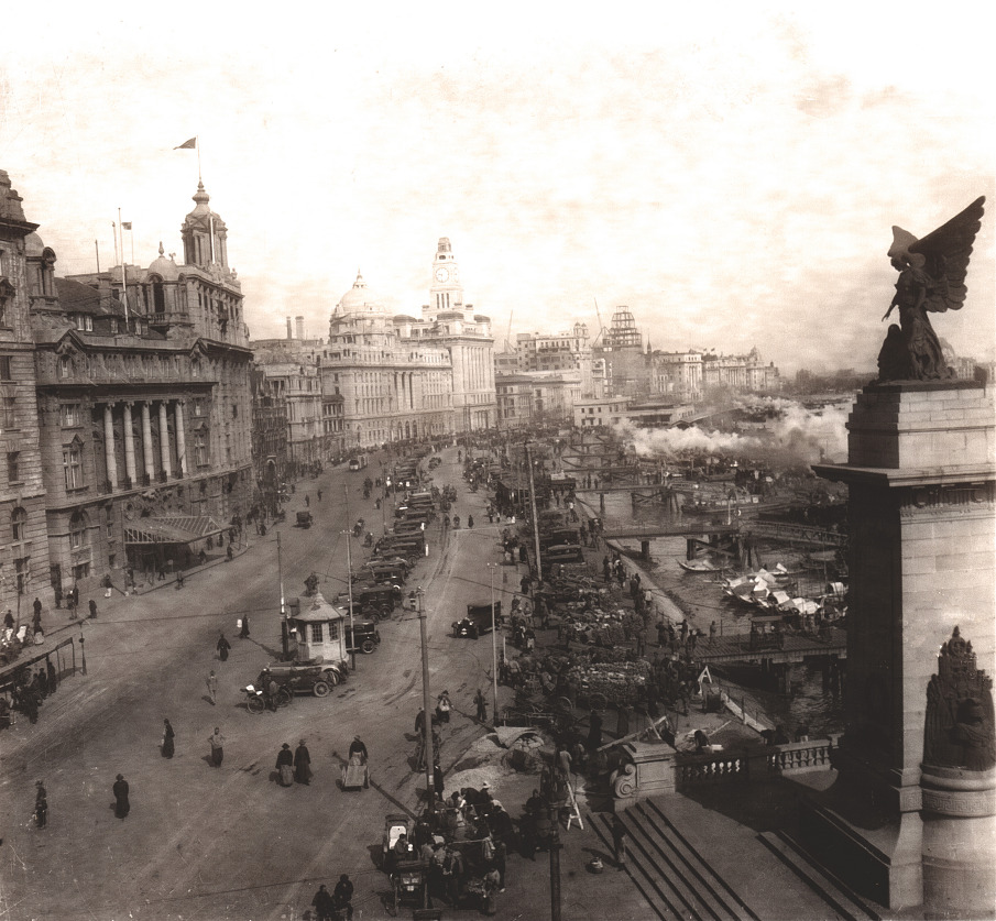 Shanghai, the Bund, 1929