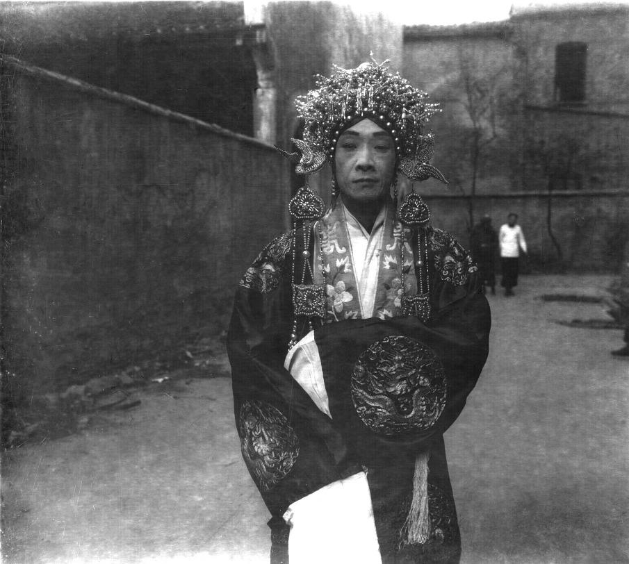 Opera actor N°3, Beijing, 1929