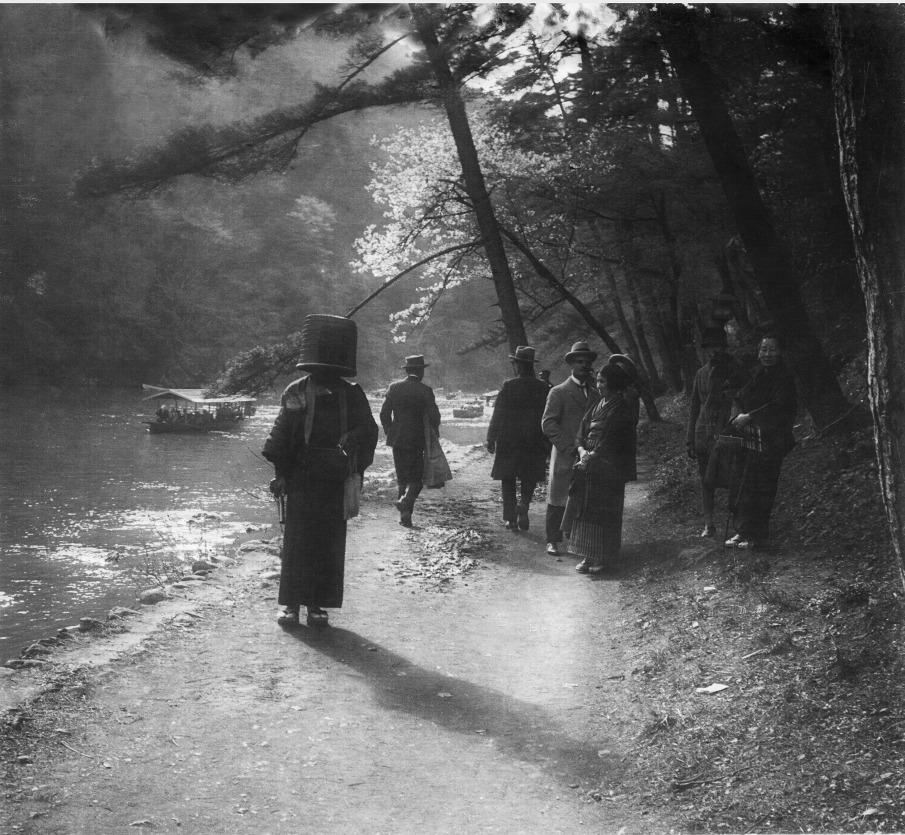 Japanese itinerant Kumosu monk, Shanghai, circa 1932
