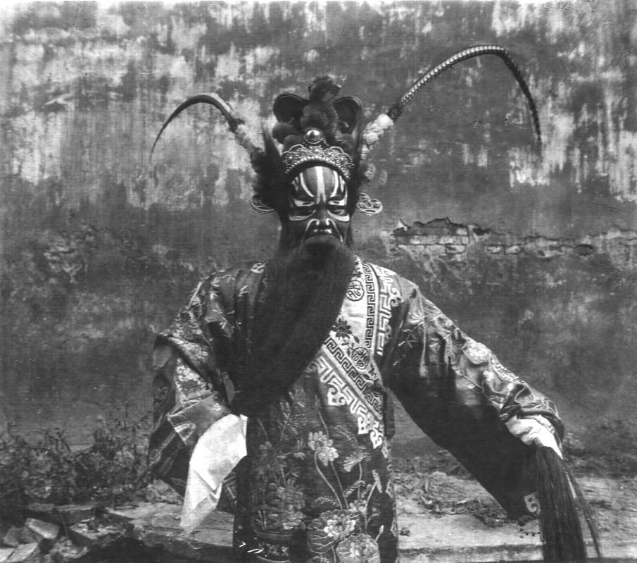 Opera actor N°4, Beijing, 1929