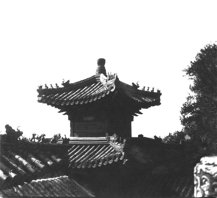Summer palace rooftops, circa 1930