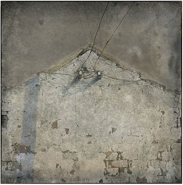 Old Wall (2009), variable sizes, pigment print on fine art paper