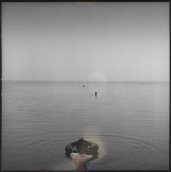 Three Men on the Lake (2004/2007) vairble sizes, archival pigment print on fine art paper