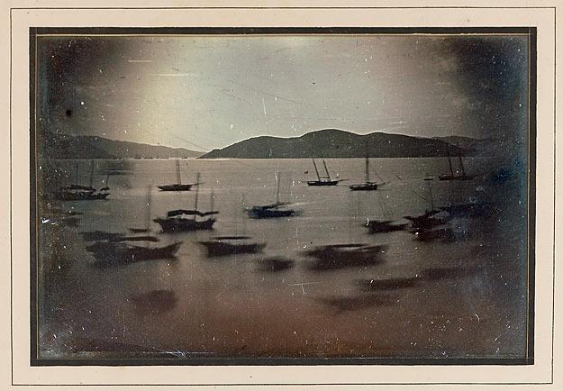 Port de la Tay-pa de Macao, octobre 1844, daguerréotypie
