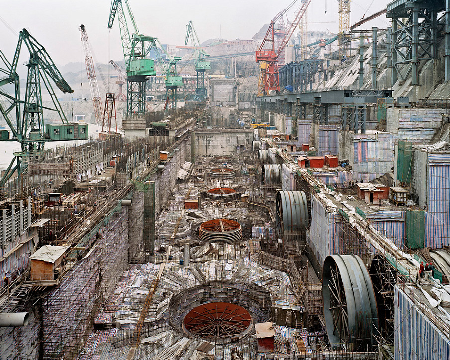 Dam #6, Three Gorges Dam Project, Yangtze River, 2005