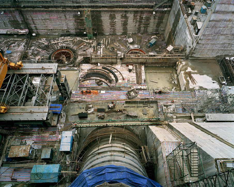 Dam #7,Three Gorges Dam Project, Yangtze River, 2005
