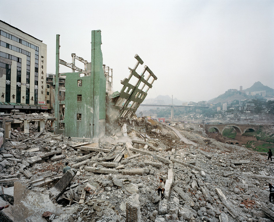 Wan Zhou #4,Three Gorges Dam Project, Yangtze River, 2002