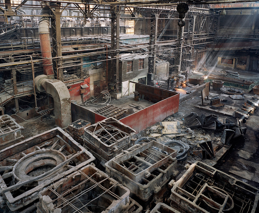 Old Factories #5, Shenyang Heavy Machinery Group, Tiexi District, Shenyang City, Liaoning Province, 2005