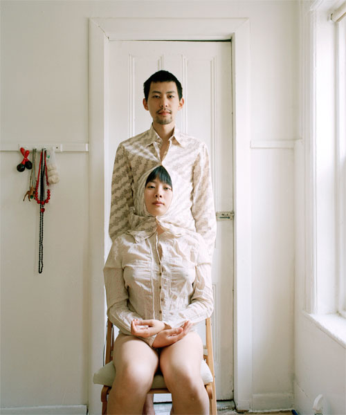 Try to live like a pair of siamese twins, c-print, 2009
