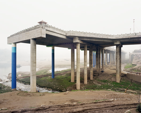 Unfinished Elevated Highway, Ciqikou, Shapingba District, Chongqing, 2002