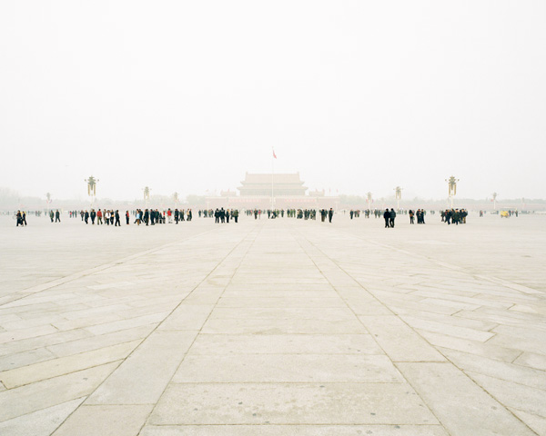 Tiananmen Square, Beijing, 2002