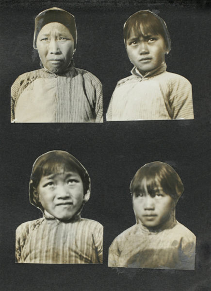 Women and girls, Taihu region west of Shanghai, c. 1923-1925