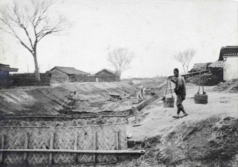 Digging a canal, c. 1920-1930