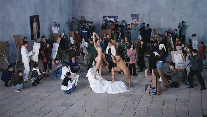 Follow Me, 120 x 300 cm, 2003