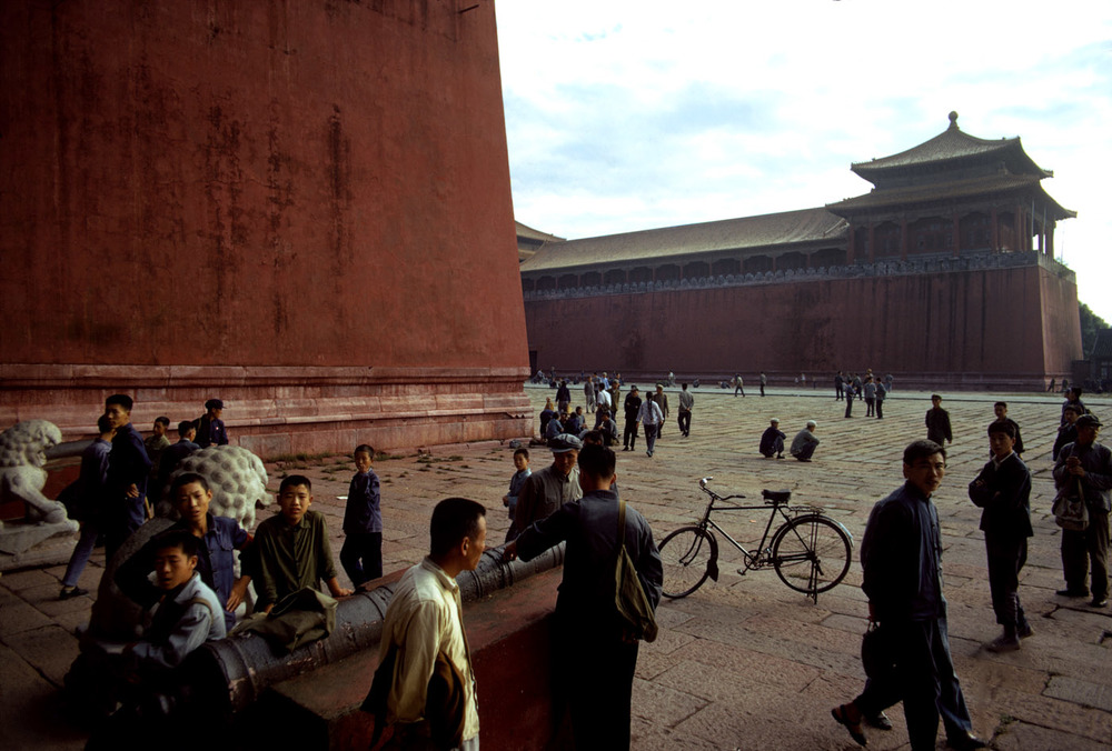 Forbidden City, 1973 ©Bruno Barbey / Beaugeste Gallery