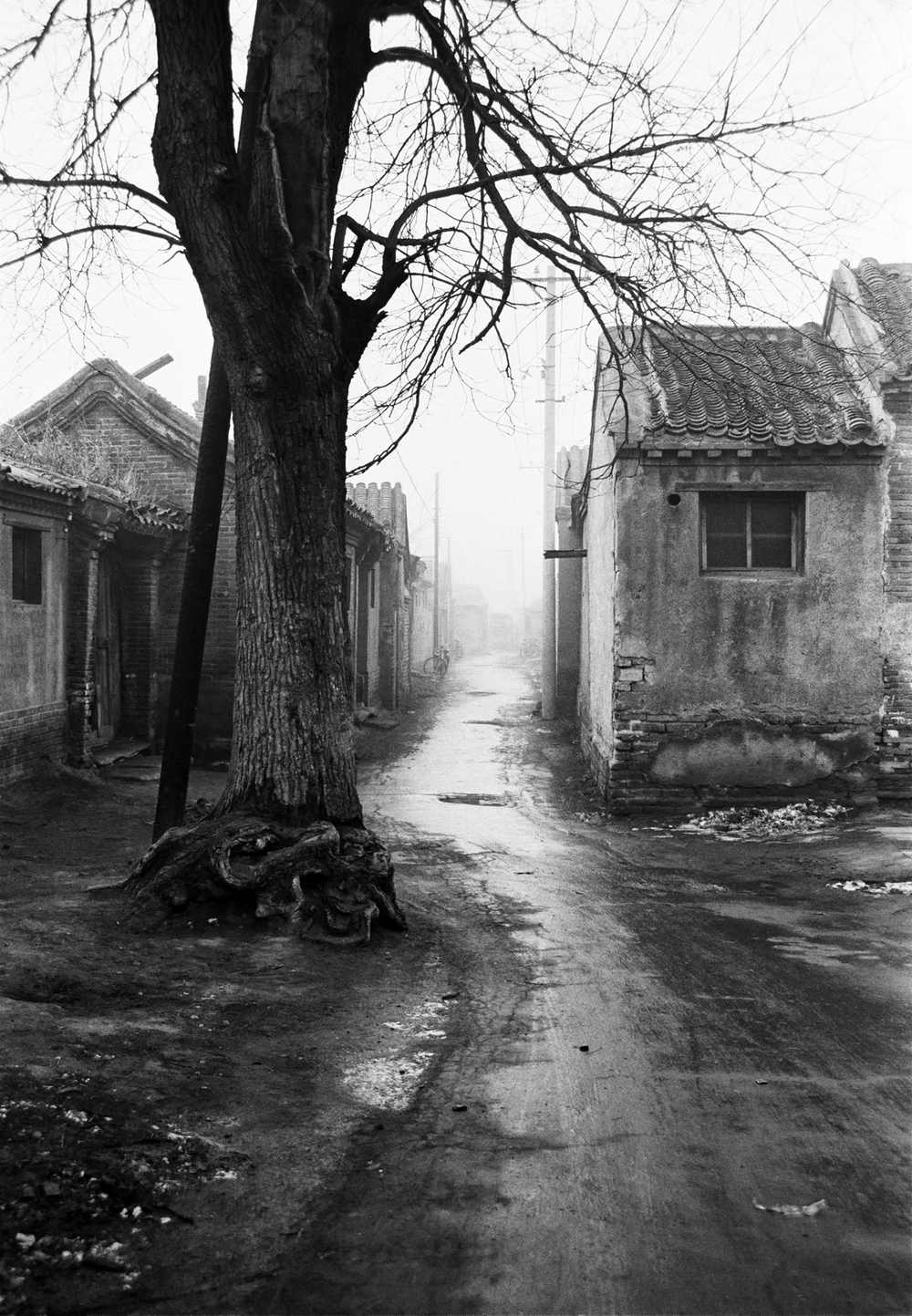 Front Well Hutong (1989) | Courtesy of Hua Gallery