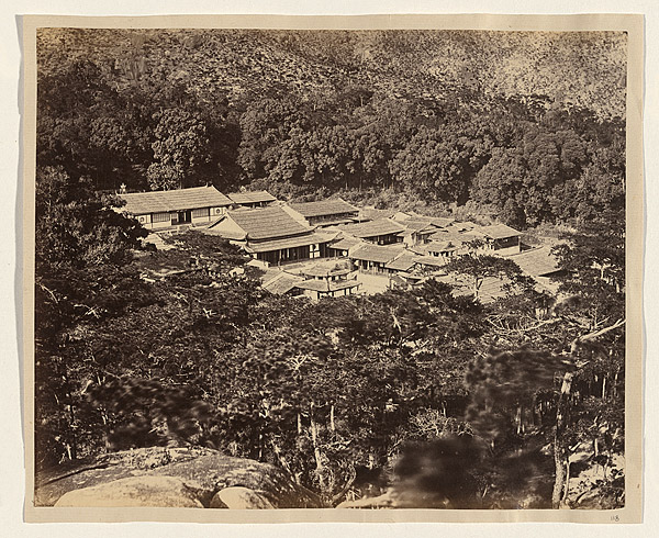 View of Yuenfu Monastery, 1870, albumen print. NGA 2009.170 © National Gallery of Australia
