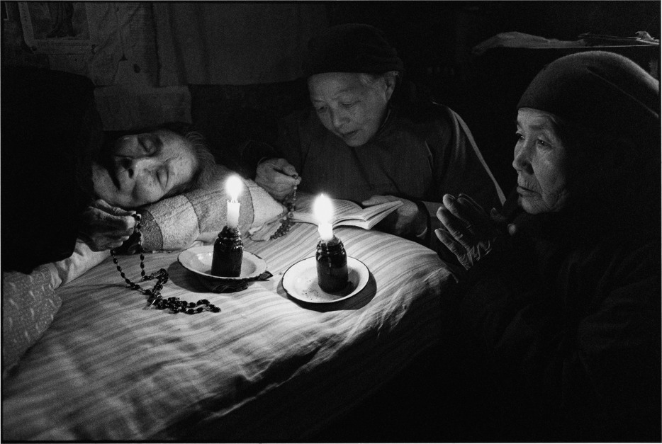 "From the series ""On The Road: The Catholic Faith in China"", 1992-1996"
