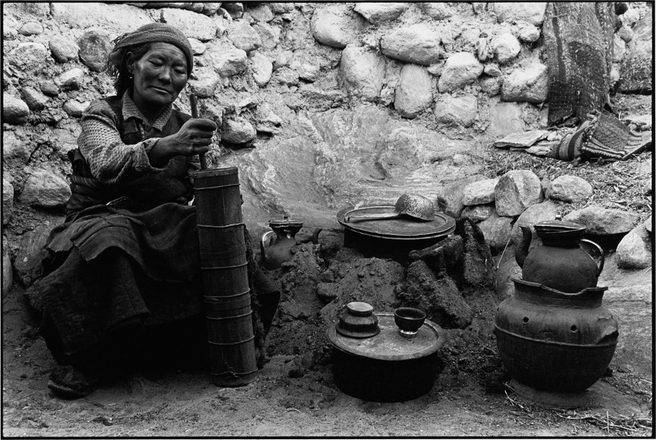 "From the series ""Four Seasons: Everyday Life of Tibetan Peasants"", 1996-2004"