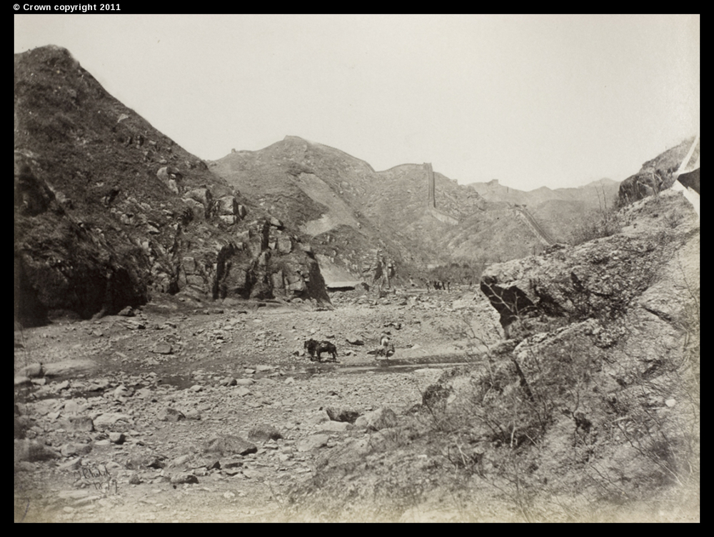The Great Wall of China, Nankou Pass, 1877