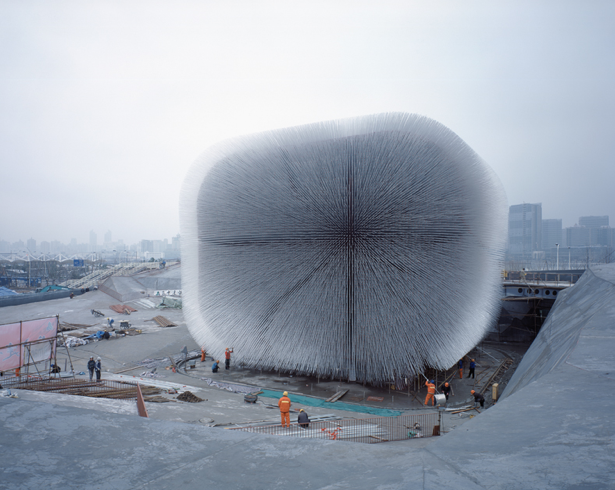 The UK Pavilion in Shanghai Expo in 2010 © Peter Dixie. All Rights Reserved