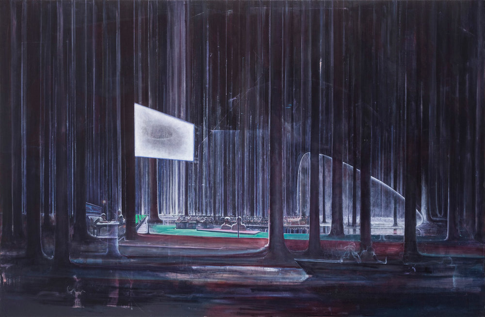 "Zhu Xinyu, ""A Clear Reflection"", 2014, oil on canvas"