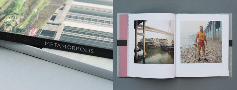 "Tim Franco's ""Metamorpolis"" monograph © Tim Franco"