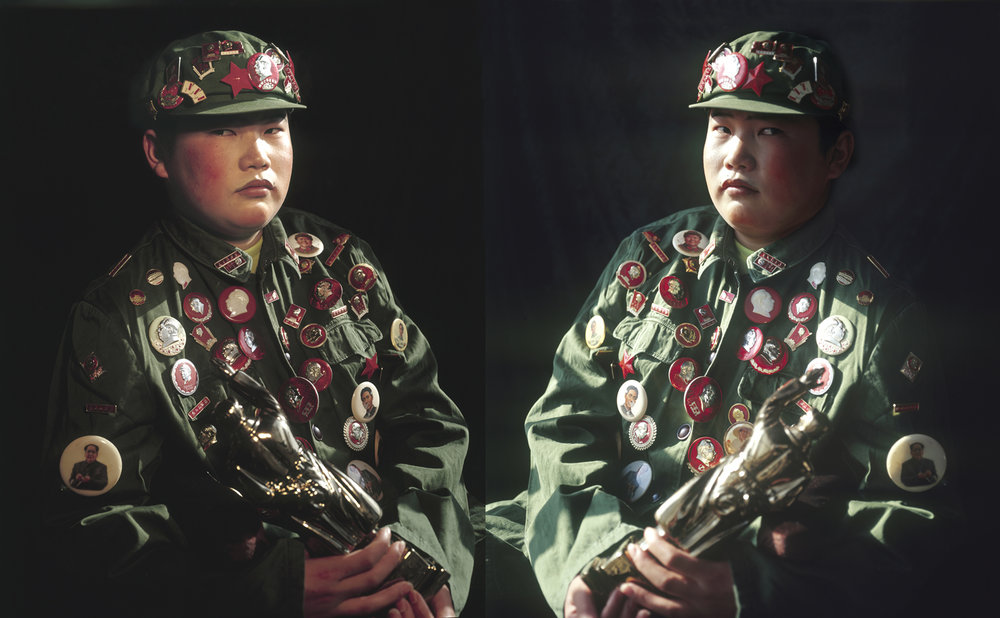A young man from Chifeng, 2006, 135x85cm