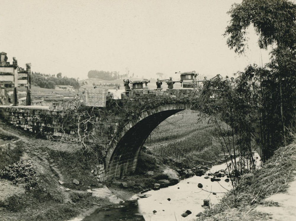 Bridge near Li-tu Ho, 1909-03