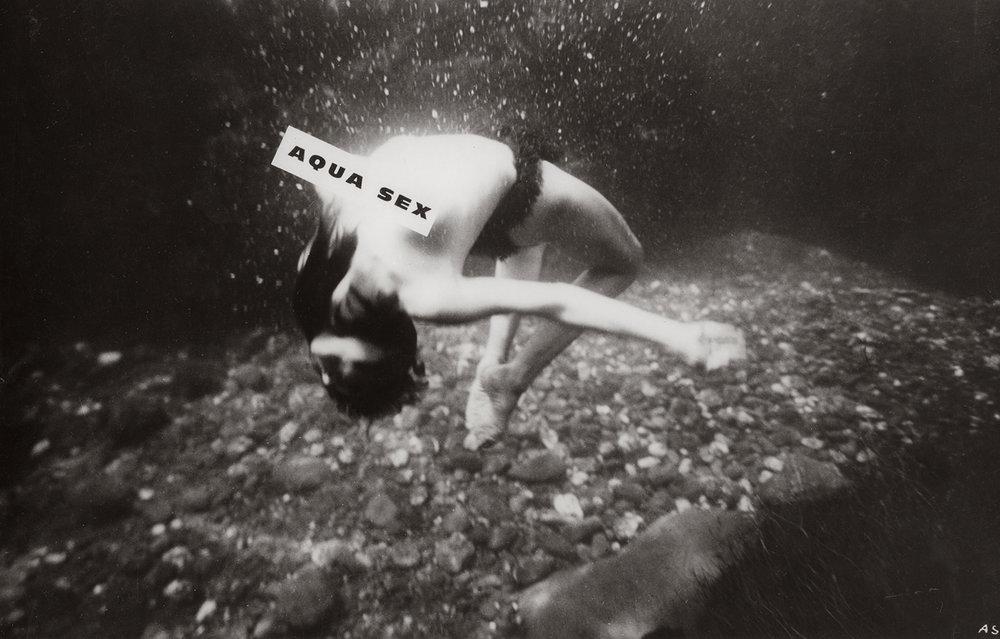 Unidentified photographer, Aquasex, 1962 © Courtesy Lumière des roses / Artwork exhibited by LUMIÈRE DES ROSES