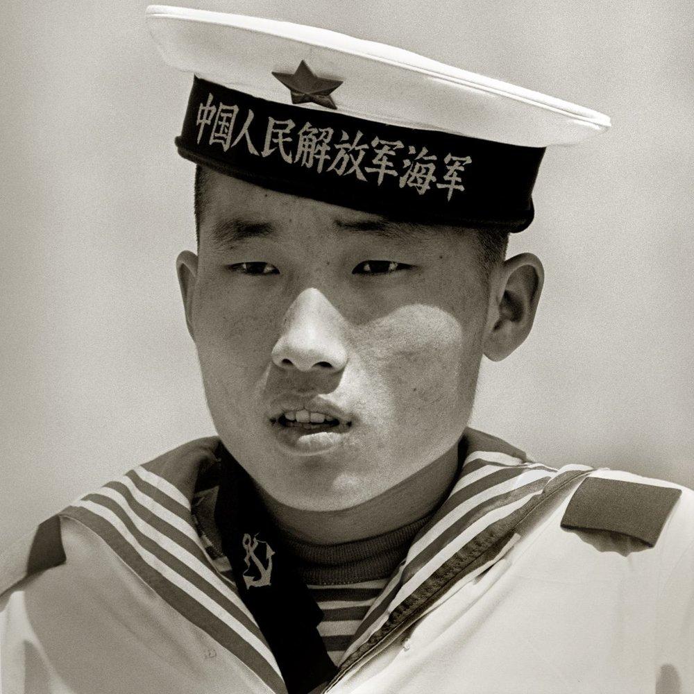 Sailor, Monument to the People's Heroes, Beijing, 1979 ©Albert Watson