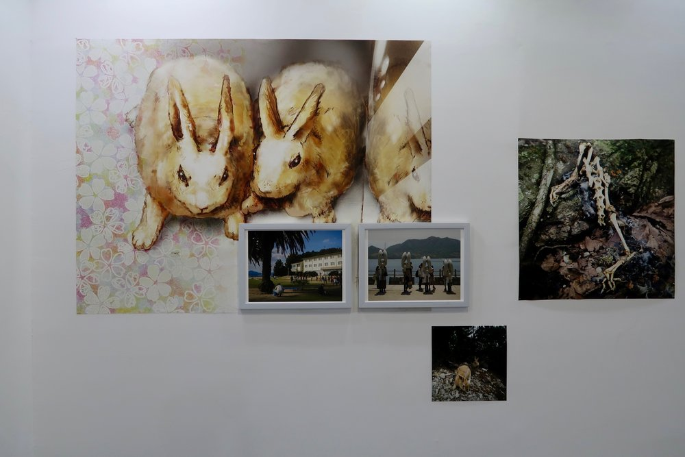 Yoshikatsu Fujii's works at Jimei Citizen Square main exhibition hall, exhibition view © Marine Cabos