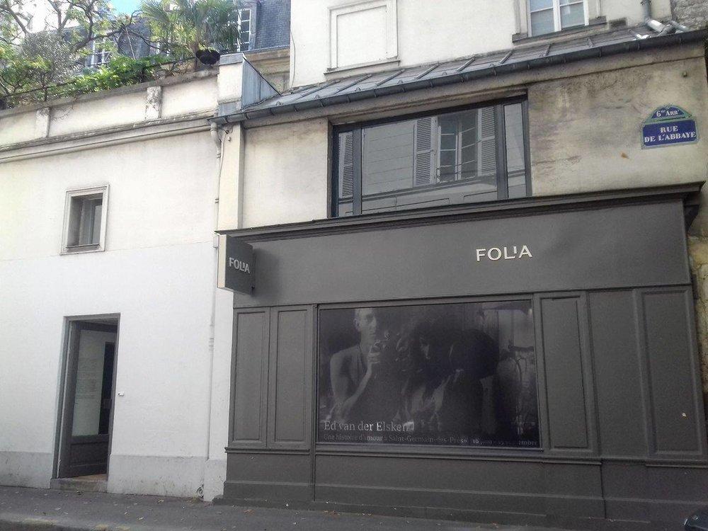 Galerie Folia, outside view / Courtesy of Galerie Folia