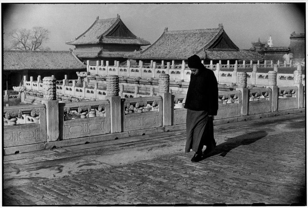 Henri Cartier-Bresson, CHINA. Beijing. December 1948. The Forbidden City. (PAR33905) © Henri Cartier-Bresson/Magnum Photos